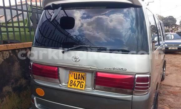 Buy Toyota Regius Silver Car in Arua in Uganda