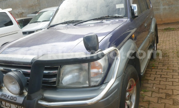 Buy Toyota Land Cruiser Prado Blue Car in Arua in Uganda