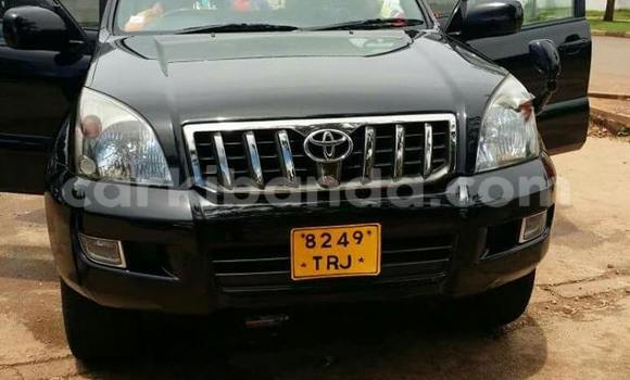 Buy Toyota Prado Black Car in Kampala in Uganda