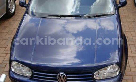 Buy Volkswagen Golf Blue Car in Kampala in Uganda