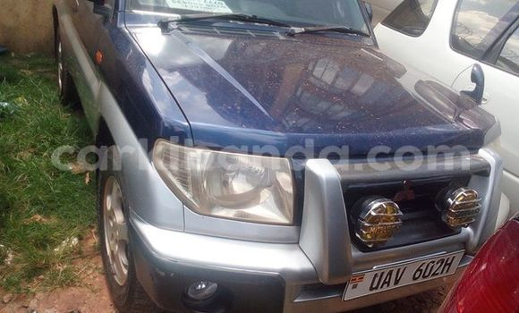 Buy Mitsubishi Pajero Blue Car in Kampala in Uganda