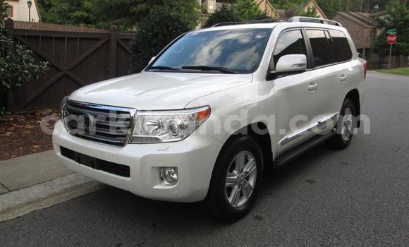 Buy Toyota Land Cruiser White Car in Kampala in Uganda