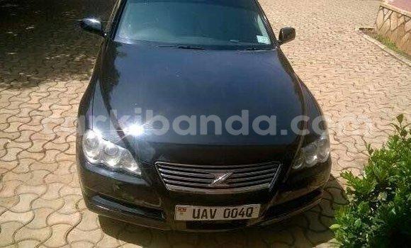 Buy Toyota Mark X Black Car in Arua in Uganda