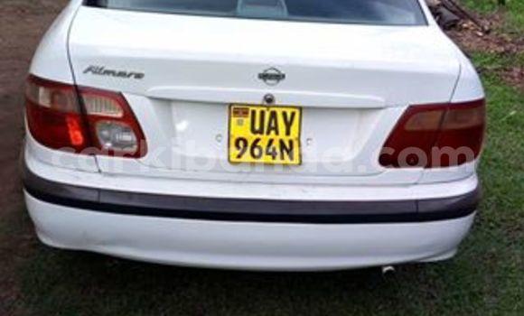 Buy Nissan Almera White Car in Kampala in Uganda