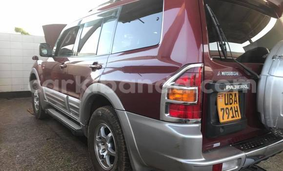 Buy Mitsubishi Pajero Red Car in Kampala in Uganda