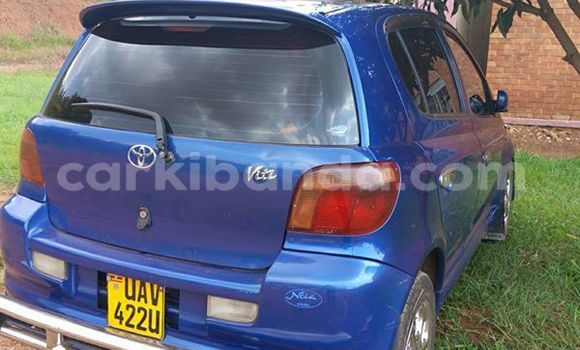 Buy Toyota Vitz Blue Car in Kampala in Uganda