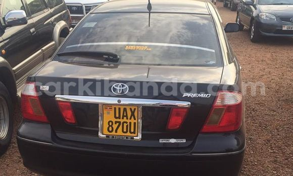 Buy Toyota Premio Black Car in Kampala in Uganda