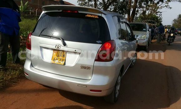 Buy Toyota Spacio Silver Car in Kampala in Uganda